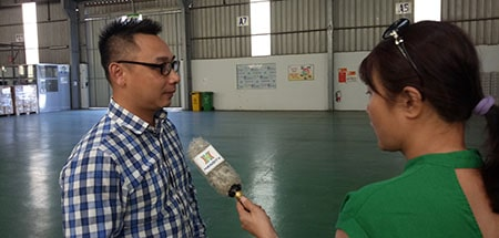 HaNoi Television Interview Deputy General Director Mr Trinh Ngoc Thao